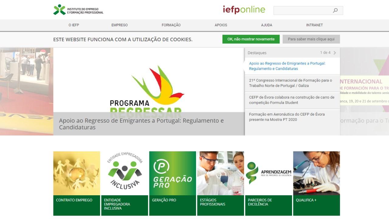 IEFP – Instituto do Emprego e da Formação Profissional