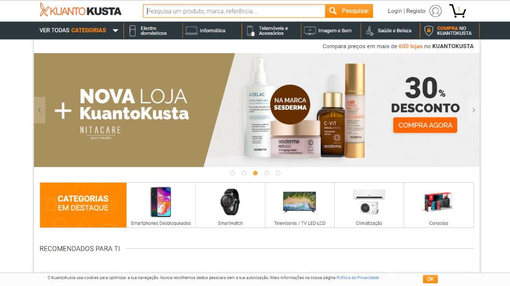KuantoKusta – comparador de preços e marketplace