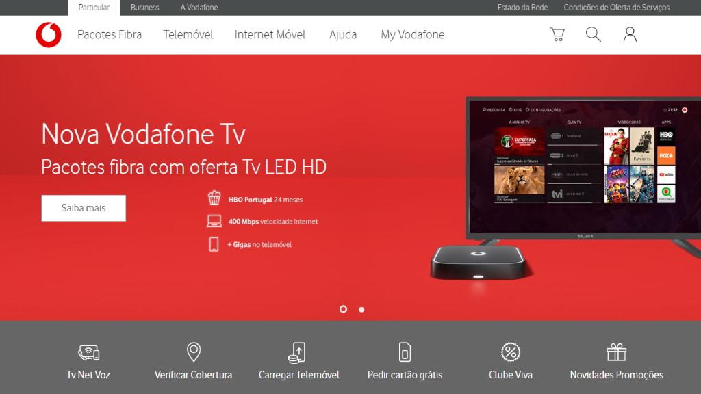 Vodafone Portugal – telemóveis, Internet e Televisão
