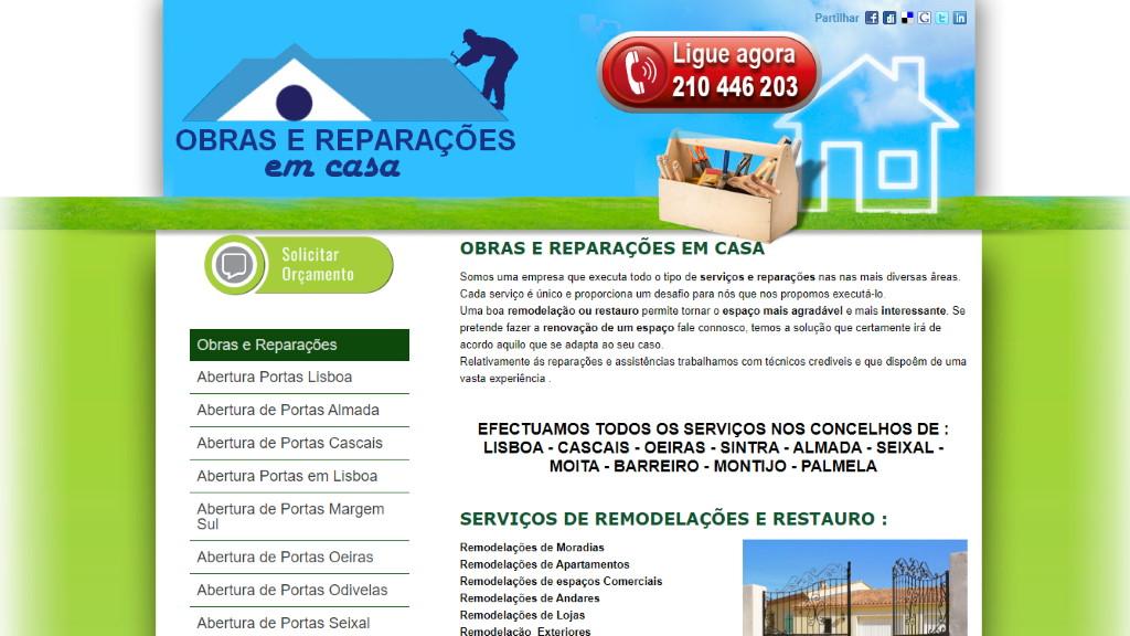 Obras e Reparações em Casa
