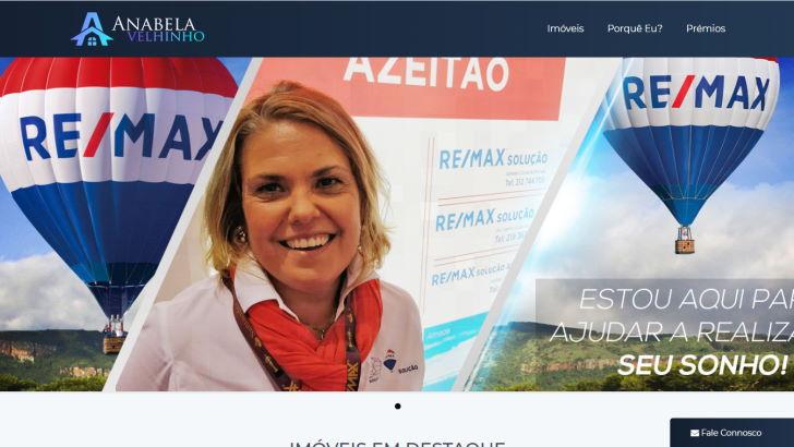 Anabela Velhinho - consultora imobiliária REMAX