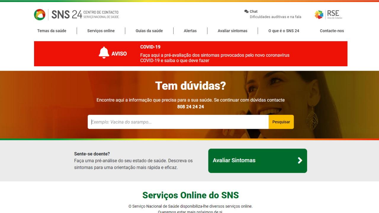 SNS - Serviço Nacional de Saúde