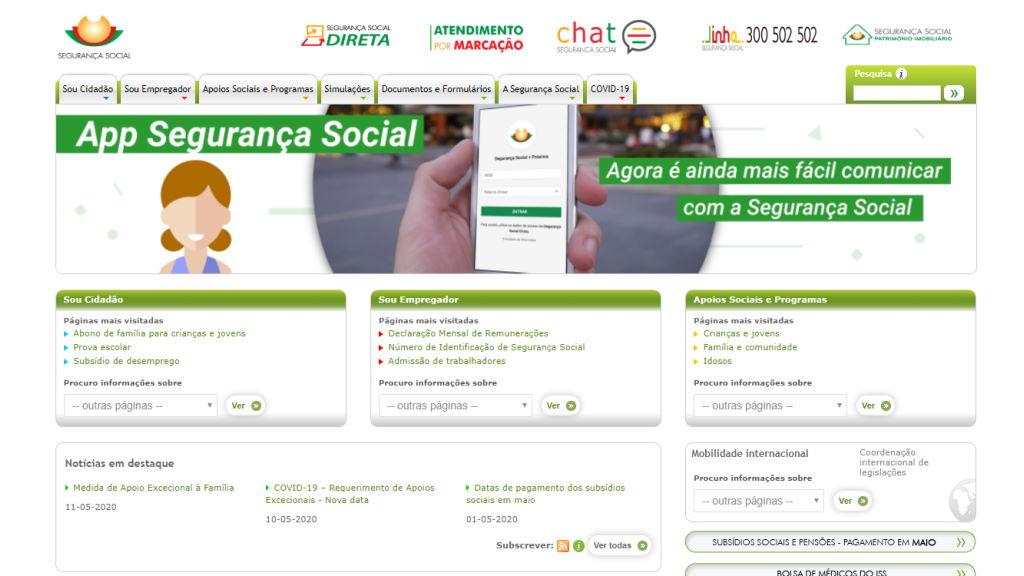 Portal da Segurança Social