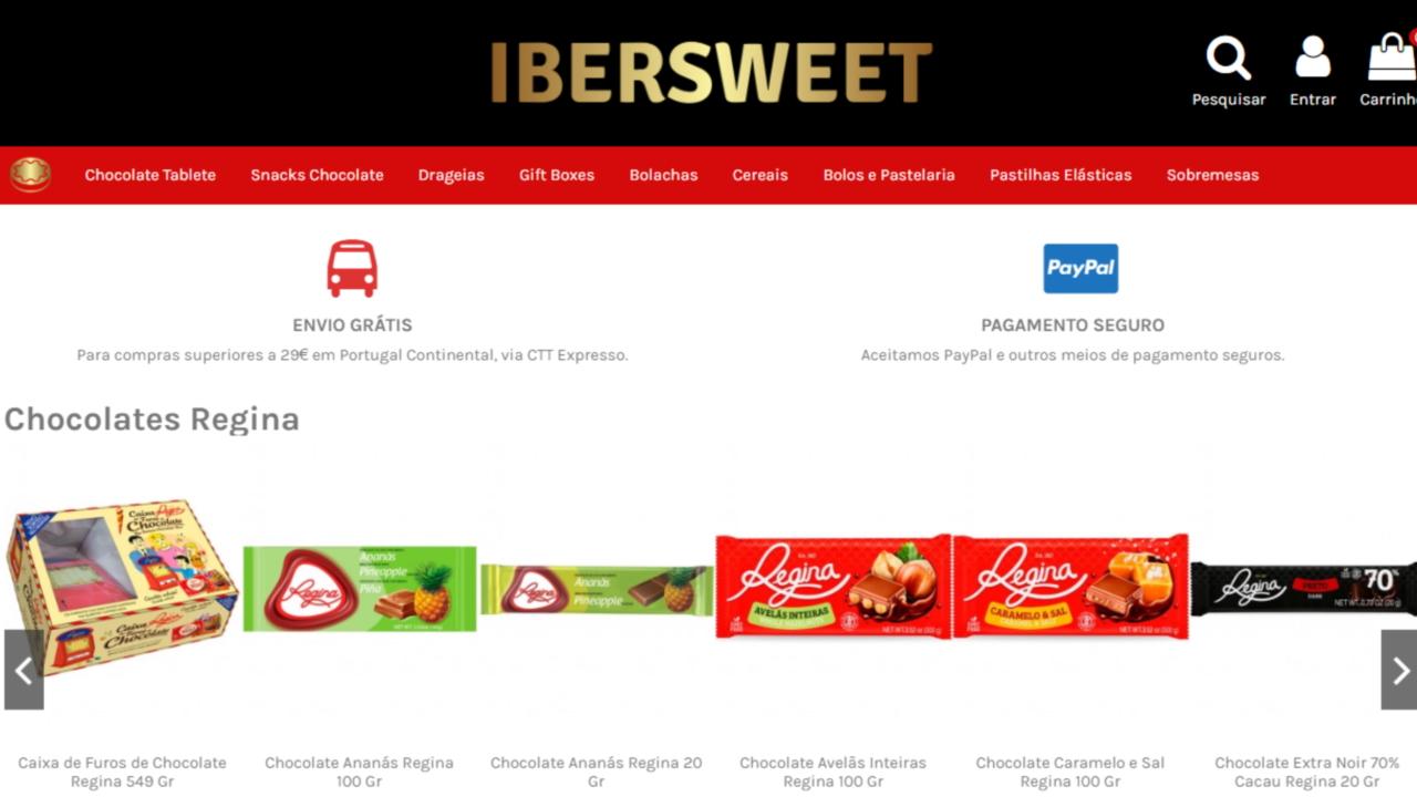 IberSweet.com - loja online de doçaria