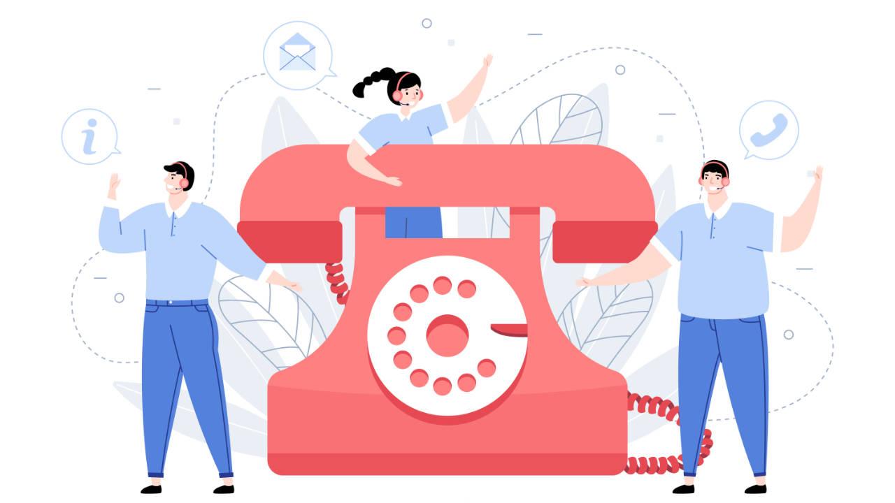 procurar números de telefone