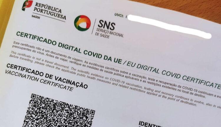 Certificado Digital COVID da União Europeia